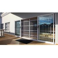 China 0.8 - 2.0mm Thickness High Security Doors And Windows With Extrusion Profile White Color wholesale