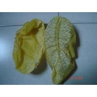 China CE ISO Yellow / Blue Shoe Covers Disposable Anti Skid Lightweight One Time Use wholesale