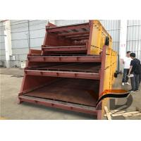China Low Noise Double Deck Vibrating Screen Feeder Large Capacity Wear Resistant on sale