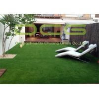No Mowing Outdoor Turf Carpet Low Maintenance With Low Friction Non Infill