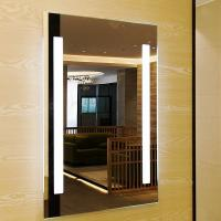 China Smart Touch Sensor Switch Led Bathroom Wall Mirror Fogless Shower Mirror wholesale