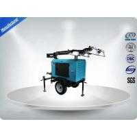 Buy cheap Contruction Emergency Mobile Light Tower , Trailer Mounted Light Towers Water from wholesalers