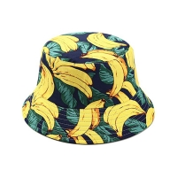 China Round Brim 58cm Fisherman Bucket Hats For Young People wholesale