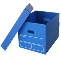 Buy cheap PP Corrugated Logistics Transport Plastic Cardboard Turnover Box from wholesalers