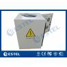 China Anti - Corrosion Pole Mounted Cabinet With Shaped Hole Full Protection wholesale