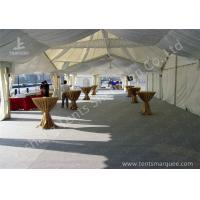 China High Peak Lining Style Aluminum Frame Water Resistant Tent Structure For Wedding Receptions wholesale