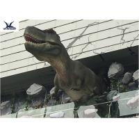 Buy cheap Life Size Mechanical Outdoor Dinosaur Statues For Dinosaur Theme Park / Zoo from wholesalers