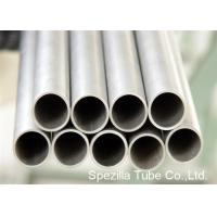 China Condenser Thin Wall Pipe Welded Titanium Round Tube For Medical Industry on sale