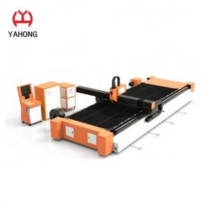 China Plate CNC Plasma Tube Cutting Machine, Ss Pipe Cutter Machine 20mm Cutting Thickness wholesale