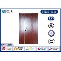 Buy cheap Steel Structure Red Fire Safety Door For High Rise Civil Building Easy To Install from wholesalers