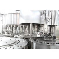 China RCGF Mode SUS304 Juice Pulp Juice Filling Machine With Rinser / Filler / Capper wholesale