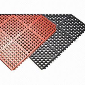 China Anti-fatigue Floor Rubber Mat, Grass Protector Mat wholesale