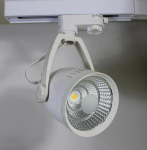 China 30W Cree LED COB Track Light 360 Degree horizontal rotation wholesale
