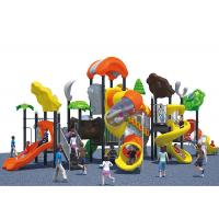 China Food grade LLDPE Plastic colorful interesting kids outdoor playground equipment wholesale