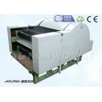 China Nonwoven Cotton Wool Fiber Carding Machine With Single Cylinder Double Doffers wholesale