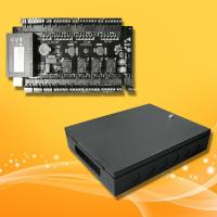China Four Door Access Control Panel Support RFID Card Reader and Exit Button EM lock wholesale