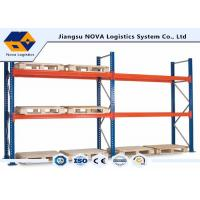 Corrosion Protection Pallet Warehouse Racking With Free Post Base Plate