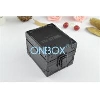 Buy cheap OEM Black Aluminium Watch Box For Single Men's Watch , Metal Watches Storage from wholesalers