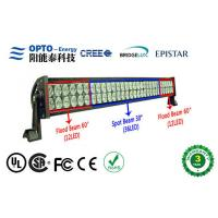 China High Intensity Waterproof Cree LED Light Bars 120W For Truck Lighting, 9-30VDC Military car Lighting on sale