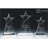 China Star Transparency Plasticity Weatherability Laser Engraved Custom Acrylic Award For Souvenir wholesale