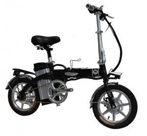 China 40km 100km Folding Electric Bike GB Lithium Battery Powered wholesale