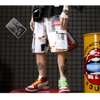 China Garment Dyed Cargo Hip Hop Men Streetwear Shorts Large Pocket For 4 To 16 Olds wholesale