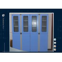 Buy cheap Light Grey Steel Storage Cabinets , Flammable Liquid Storage Cabinet Multi from wholesalers