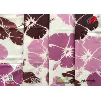 China printing polyester spandex fabric / lycra fabric sublimation printing / custom printed spandex fabric wholesale