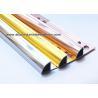 China High Gloss Polished Aluminium Tile Edge Trim 2m Rust - Proof Interior Decoration wholesale