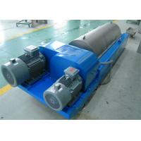 China Horizontal Liquid Solid Separation Centrifuge Drum Diameter 350Mm PLC Control wholesale