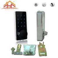 China High Security Bluetooth Smart Door Lock Touch Screen Keyless Wireless Remote Control wholesale