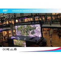 China 1 / 8 scan P5 SMD 3 in 1 Indoor Full Color Led Screen , with 160mmX160mm module on sale