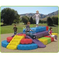 China Funny Toddler Play Equipment / Kids Free Standing Slide DIY Plastic RUBIK'S Cube Big Block wholesale