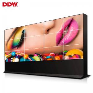 China Narrow Bezel DDW LCD Video Wall Monitor Ultra Thin 8 Bit 16M Color Support Variety Signal Ports wholesale