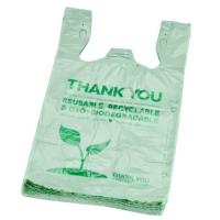 China HDPE Disposable Plastic Grocery Bags High Duty Pressure Biodegradable Materials wholesale