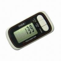 Buy cheap 3D Pedometer, Working Voltage of 1 x CR2032 3V Battery from wholesalers