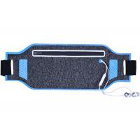 China Portable Running Waist Pack Breathe Freely , Water Resistant Mens Waist Bag on sale