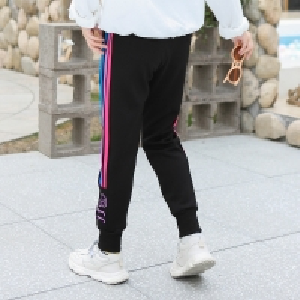 China OEM Girls Knitted Pants 52% Viscose 28% Polyester 20% Nylon wholesale