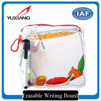 China Exquisite Erasable Writing Board , Magnetic Writing Board With Mark Pen wholesale