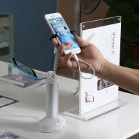 China COMER adjustable independent alarm security devices for cellphone desk display stands wholesale