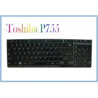 China Backlit Laptop Keyboard Toshiba P755 NEW Keypads US Black Notebook Keyboards with frame on sale