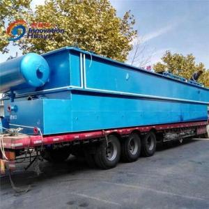 China Plastic Washing Sewage Water Treatment Plant , Blue Dissolved Air Floatation System wholesale