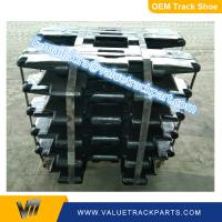China OEM quality black good material RUSTON-BUCYRUS RB30 RB38 crawler crane track shoe wholesale
