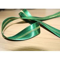 China Smooth Soft Satin Tape Sewing Invisible Zipper , Custom Silk Dress Metal Coat Zippers on sale