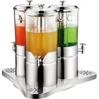 China Stainless steel juice dispenser for three tank wholesale