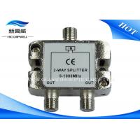 China TV 2 Way HDMI AOC Cable RF Tap Catv Splitter Low Insertion Loss ISO9001 Approved on sale