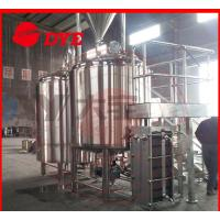 China 10BBL Custom Commercial Beer Brewing Equipment , Draught Beer Machine wholesale
