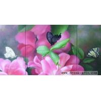 China Hand Made Oil Painting of Flower(Www.Drunk-arts.Com) wholesale