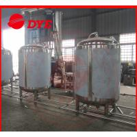 China Super Bright Beer Storage Tank Direct Fire / Electric / Steam Heating wholesale