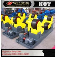 China Automatic Vessel Welding Pipe Welding Rotator With PU Rubber Roller 15000kg wholesale